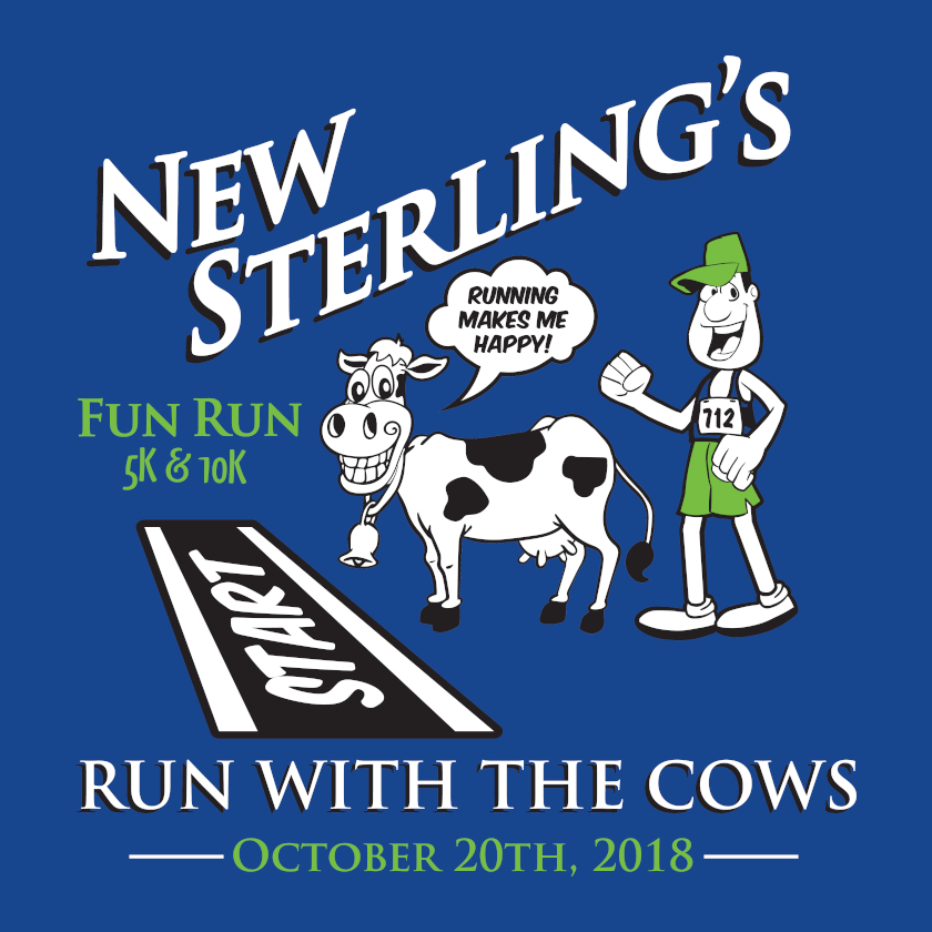 Run With The Cows - New Sterling
